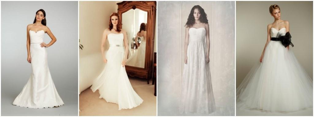 Alternative Wedding Dresses Bristol : To strap or not strapless wedding dress