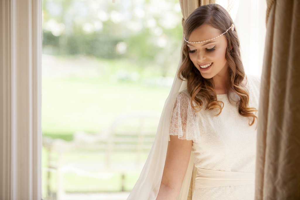 c15b4619c7287 Vivien J Bridal Accessories 2014 campaign shoot Perfect Day Bridal Rooms  Guyers House Wiltshire Red Forge
