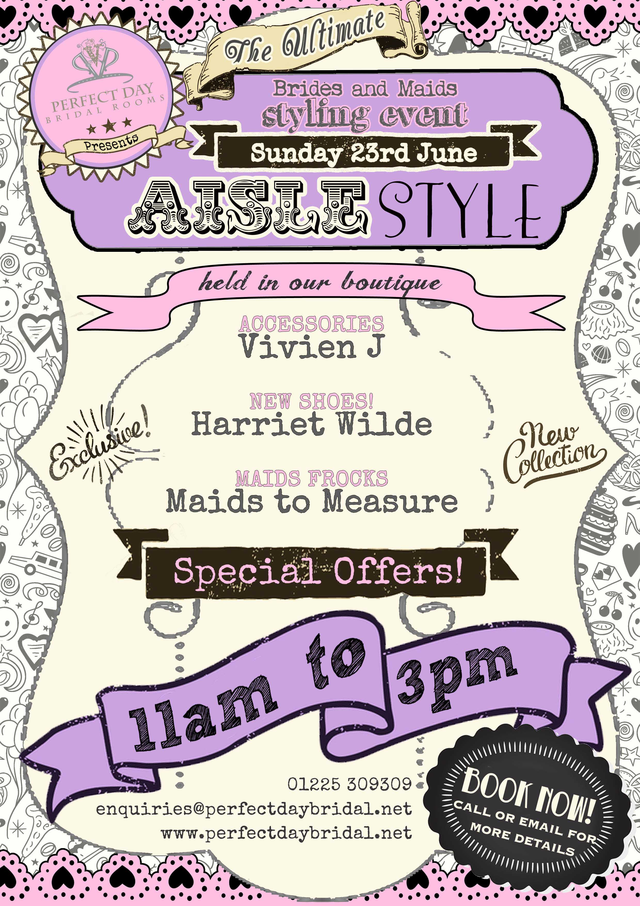 AISLE STYLE EVENT POSTER (1)