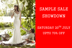 Sample Dress Sale at Perfect Day Bridal