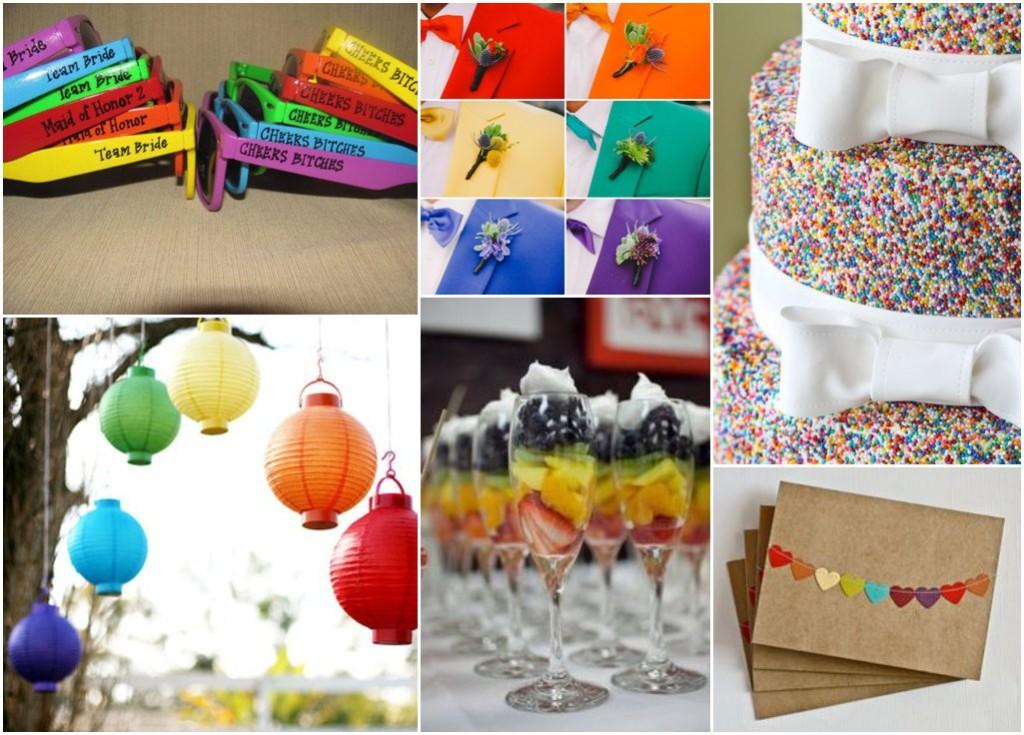 Rainbow Wedding Inspiration Perfect Day Bridal_0005