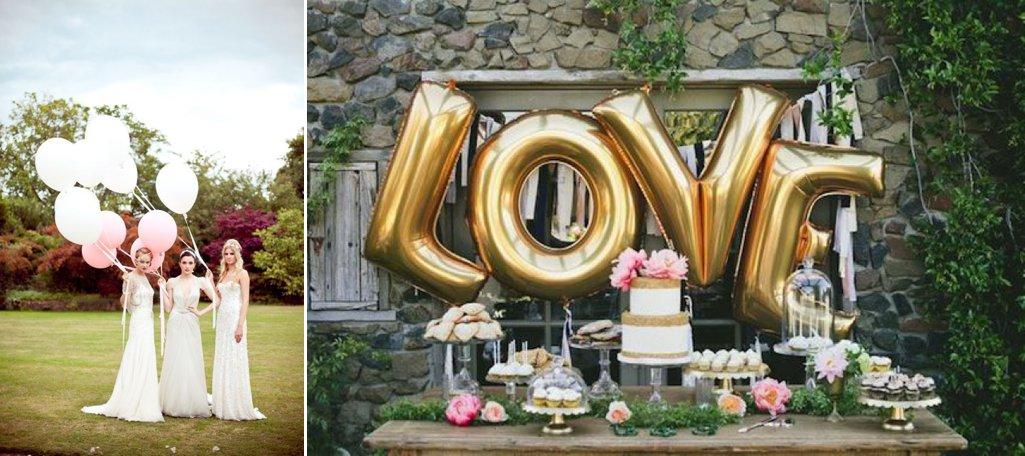 Beautiful Bridal Balloon Inspiration