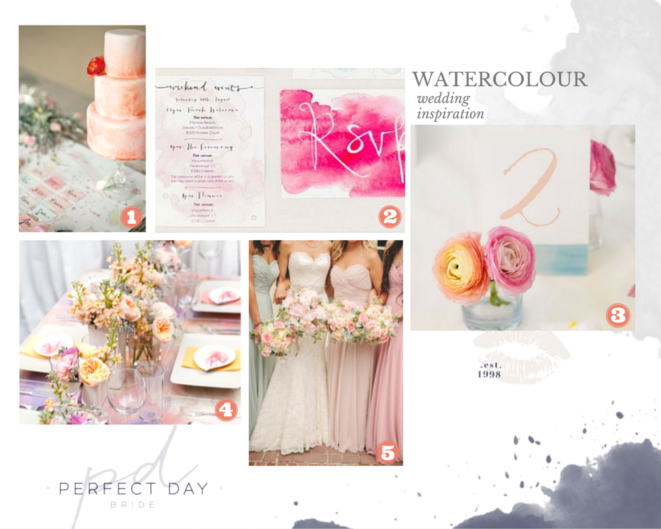 Watercolour Wedding Inspiration