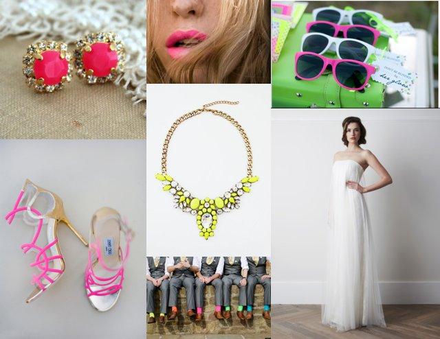 Neon wedding inspiration Perfect Day Bride_0019