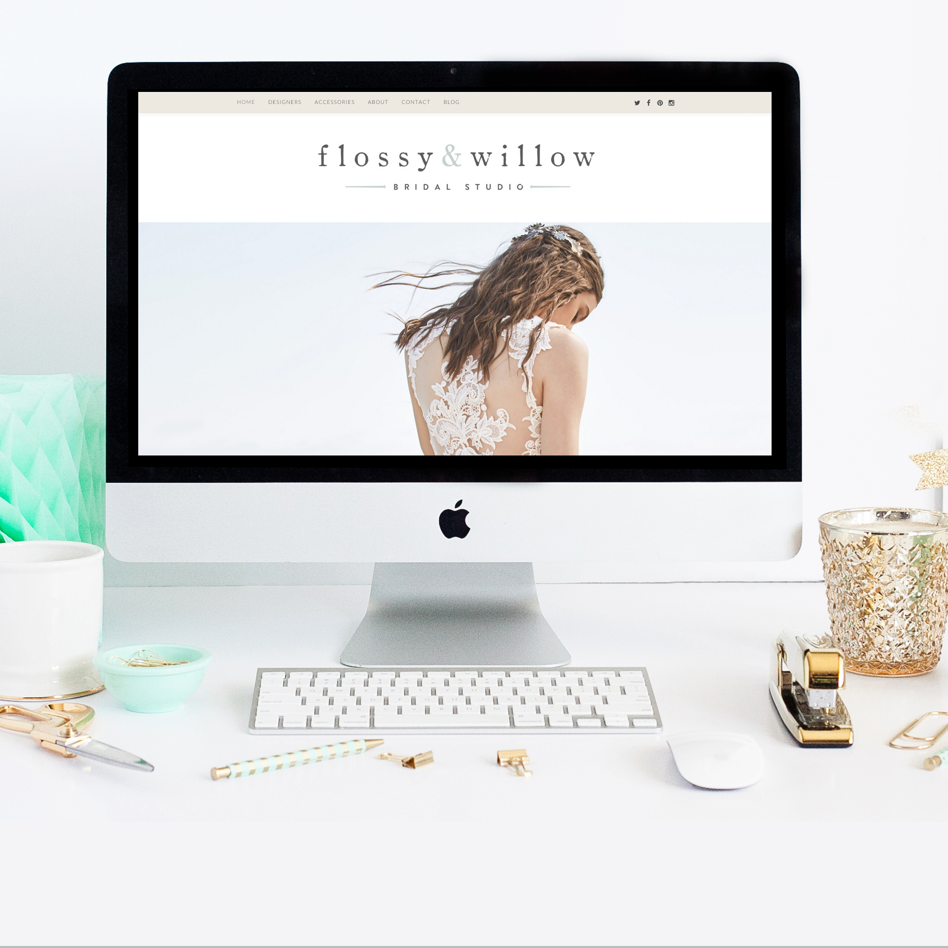 Flossy and Willow Reveal New Website