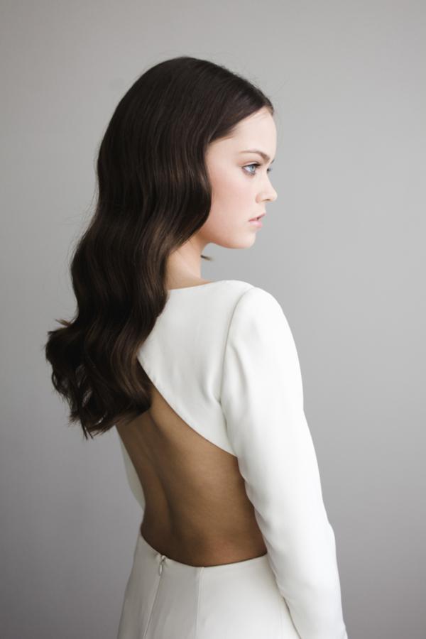Modern and Minimalist Bridal Hairstyles magnoliarouge.com - angelaandevan.com