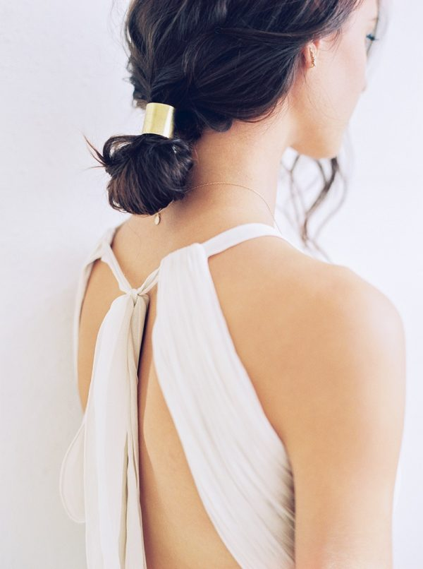 Modern and Minimalist Bridal Hairstyles