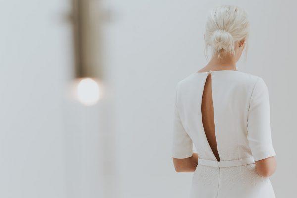 Modern and Minimalist Bridal Hairstyles rockmywedding.co.uk - charlottesimpson.co.uk