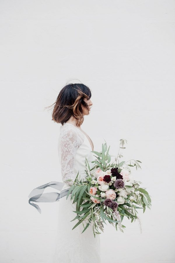 Modern and Minimalist Bridal Hairstyles View More: http://melissagidneyphoto.pass.us/puglia-wedding