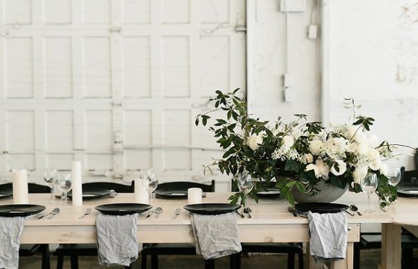 How To Pull Off A Modern Minimalist Wedding Theme whitemag.com - marisaalbrecht.co