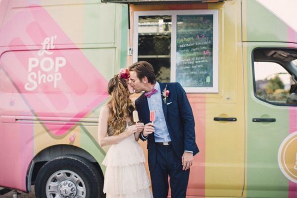 A Modern Festival Wedding with Coachella Vibes greenweddingshoes.com - laurenfairphotography.com