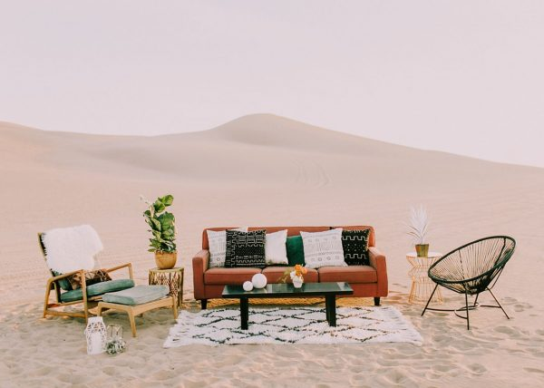 A Modern Festival Wedding with Coachella Vibes