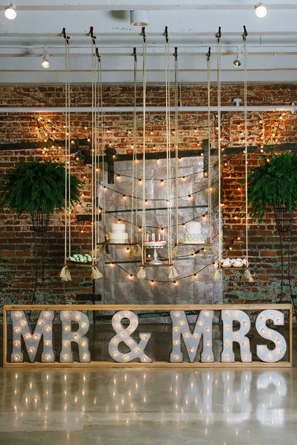 12 Of The Most Incredible Wedding Ceremony Backdrops glamourandgraceblog.com - christiansenphotography.com