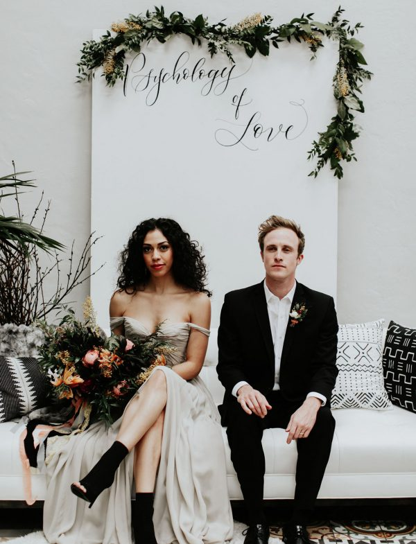 Spooky Yet Stylish Halloween Wedding Inspiration