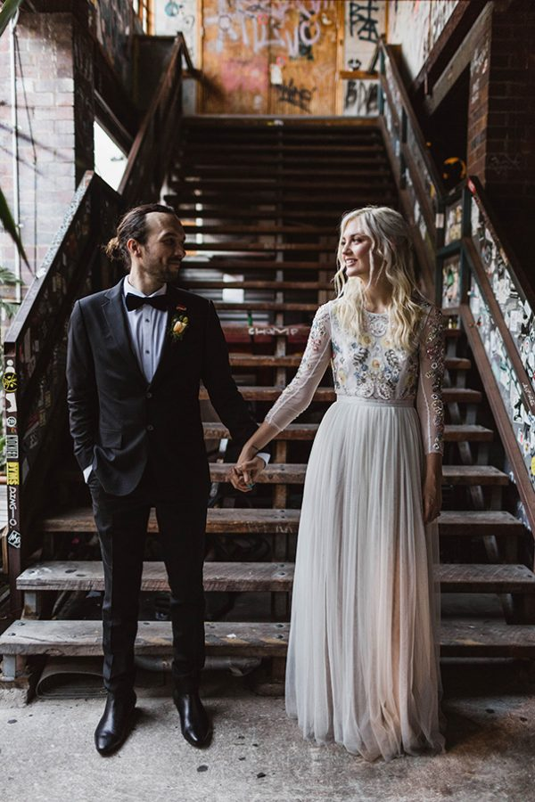 Spooky Yet Stylish Halloween Wedding Inspiration hellomay.com.au - jannekestorm.com